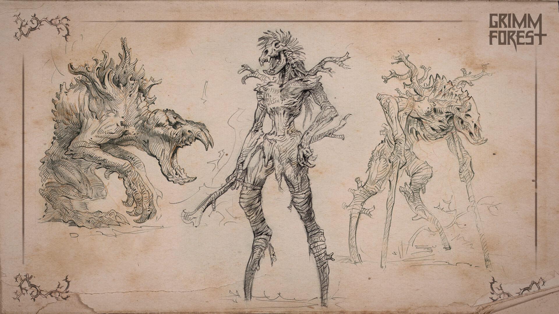 Grimm forest Concept Art